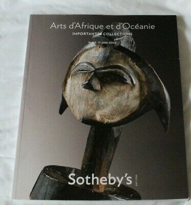 SOTHEBYS CATALOGUE ARTS D AFRIQUE ET D OCEANIC IMP COLLECTIONS TRIBAL ART JUN09