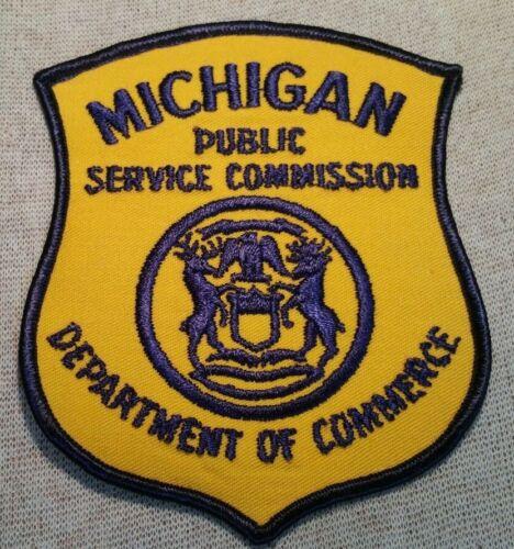 MI Vintage Michigan State Public Service Commission Patch