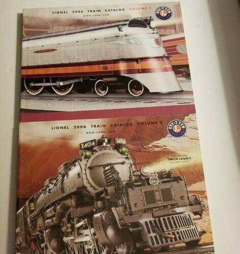 Lionel 2006 Train Catalogs Volume 1 & Volume 2