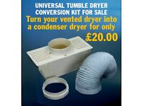 TURN YOUR VENTED DRYER INTO A CONDENSER DRYER - CONVERTER KIT FOR SALE