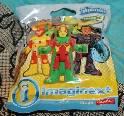 NEW UNOPENED IMAGINEXT DC SERIES 3 HAWKGIRL?  CODE 00