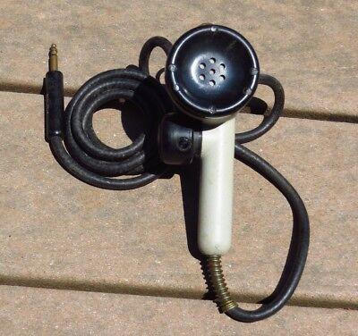 WWII USN US NAVY SW-109 T-17-B Military Radio Microphone NICE