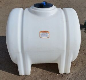125 gallon poly plastic water storage tank leg & Water Storage Tank | eBay