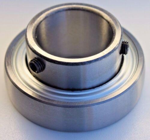 """Premium SB202-10 Insert Bearing  5/8"""" Bore w/ Set Screws & Extended Inner Ring"""