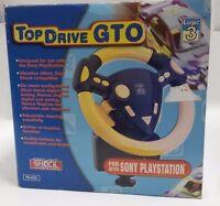 Volante Top Drive Gto Ps435 Shock Logic 3 Per Playstation 1 (psx) -  - ebay.it