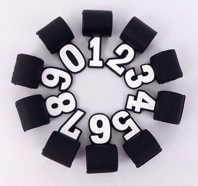 New Custom Silicone Numbers for Sport Tornado Titanium Necklace Baseball Number