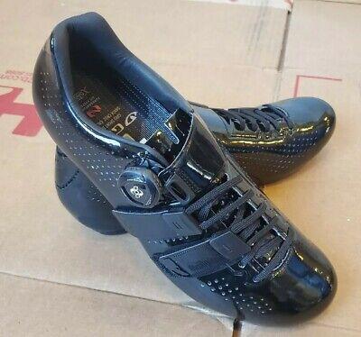 Giro Factor Techlace Road Cycling Shoes Vermillion//Black Size EU 42.5-45.5 UT
