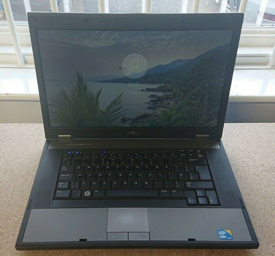 "Laptop Windows - Dell latitude E5510 i3@2.27Ghz, 4Gb Ram, 500Gb HDD, 15.6"", Windows 10 Laptop"