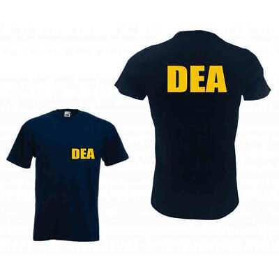 DEA DRUGS ENFORCEMENT AGENCY POLICE ARMY FBI CIA FUNNY COSTUME UNISEX T SHIRTS - Funny Army Costume