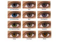 Fresh look contact lenses