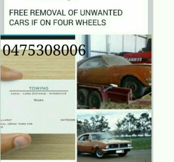 Free Scrap metal removal  Ballarat Central Ballarat City Preview