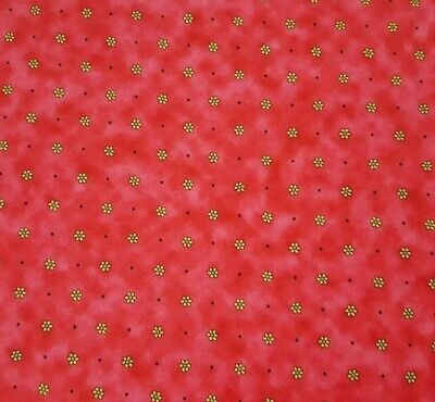 Rainbow Bright Basics III BTY Kari Pearson Quilting Treasures Floral Hot Pink