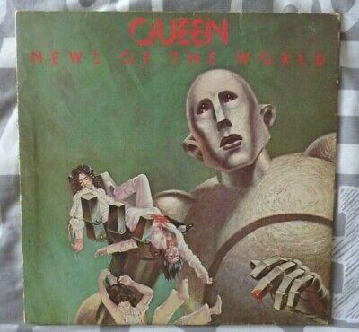 1977  QUEEN LP          NEWS OF THE WORLD