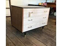 Small Retro Chest Of Drawers