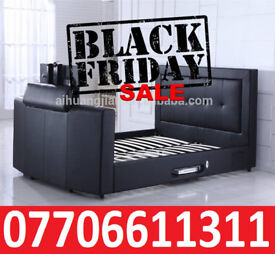 BLACK FRIDAY DEAL BRAND NEW TV BED WITH GAS LIFT STORAGE Fast DELIVERY 47