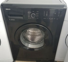 c629 black beko 7kg 1200spin washing machine comes with warranty can be delivered or collected