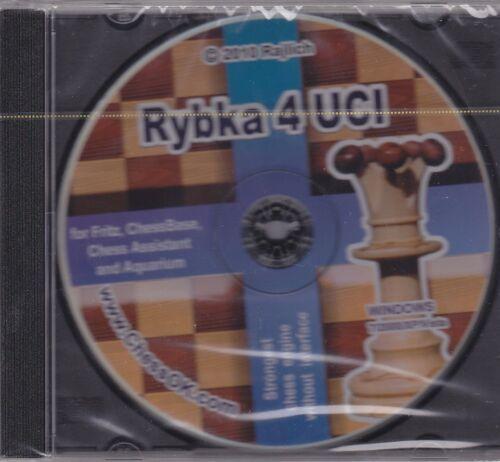 Rybka 4 UCI (CD). NEW CHESS SOFTWARE