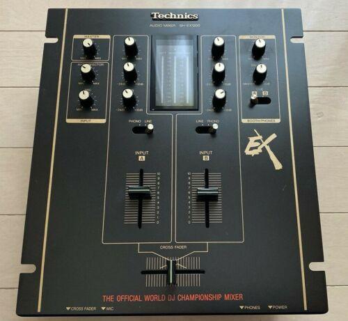 Technics SH-EX1200-K Black DMC Championship Official Audio Mixer Analog USED