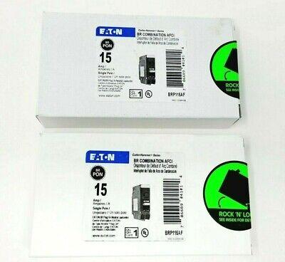 Eaton Cutler Hammer Brp115af Arc Fault Combination Afci Circuit Breaker 2 Pack