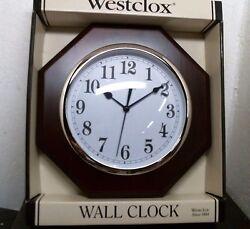 Westclox Deerfield Quartz Decorative Wall Clock 46082