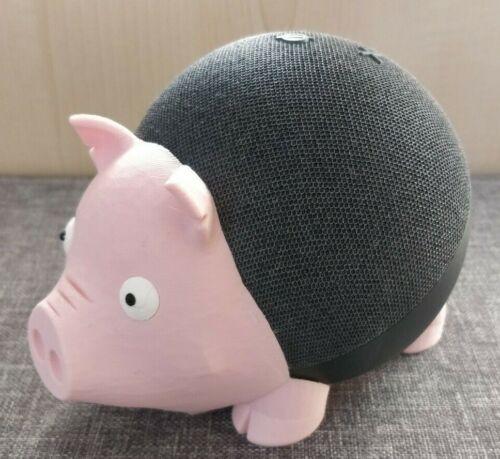 Pig Holder for Amazon Echo Dot 4th Gen / Alexa - Stand Mount