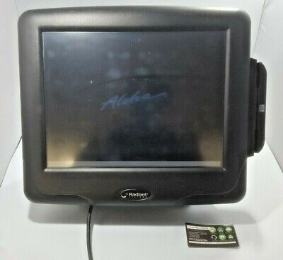 Radiant Systems Touchscreen Pos Terminal Model P1515-0034-ba Windows Xp Tested
