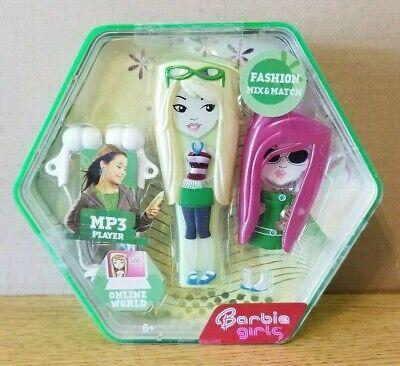 NIB NEW Mattel Barbie Girls MP3 Player 512MB Green Changeable Cover - Barbie Girls Mp3 Player