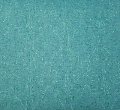 Cowgirl Up by Simon + Kabuki for Quilting Treasures BTY Western Stitching Teal - Cowgirl For Kids