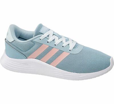 Adidas Damen Laufschuh LITE RACER 2.0 hellblau Neu
