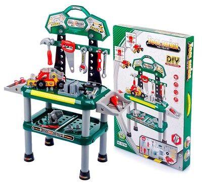 Werkstatt Werktisch  Werkzeug Kinder Werkzeugbank  Werkzeug Set 95