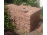 Approx x400 unused Driveway Block Paving Bricks & a pile of halves/bits