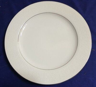 - Vintage BRENTWOOD Fine China WHITE LACE 10.25