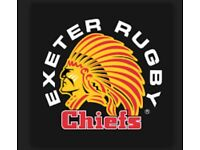 2 x Anglo Welsh Cup Tickets - Exeter v Saracens 3rd Feb 2018