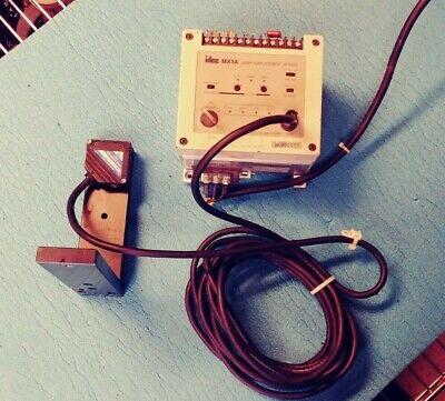 Idec Laser Displacement Sensor Mx1a-b12r6s
