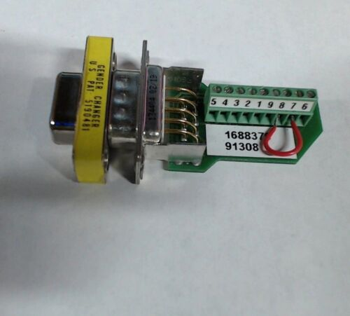 Parker 9773521 01 9 pin adapter w/ 5190481 gender changer d-sub