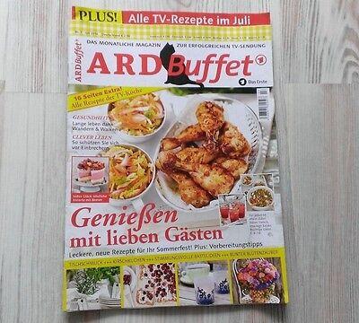 ARD Buffet Heft 7 2016 JULI - TISCHSCHMUCK KIRSCHKUCHEN BASTELIDEEN BLÜTENZAUBER