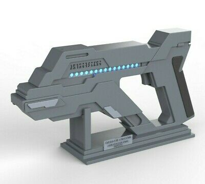Asuran Stunner + Stand - Stargate Atlantis - Cosplay - 3d printed + LEDs