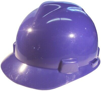 Msa V-gard Cap Style Hard Hat With Fas-trac Suspension - Purple