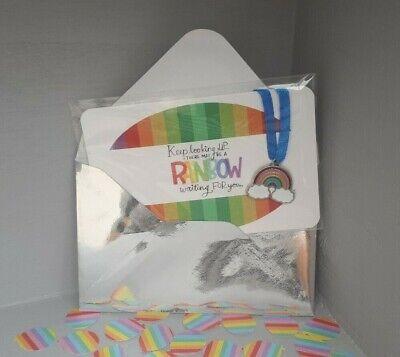 Keepsake Gift Card Charm Bracelet Best Friend Girl Boy Sorry Friendship Rainbow (Boy Girl Best Friend Bracelets)