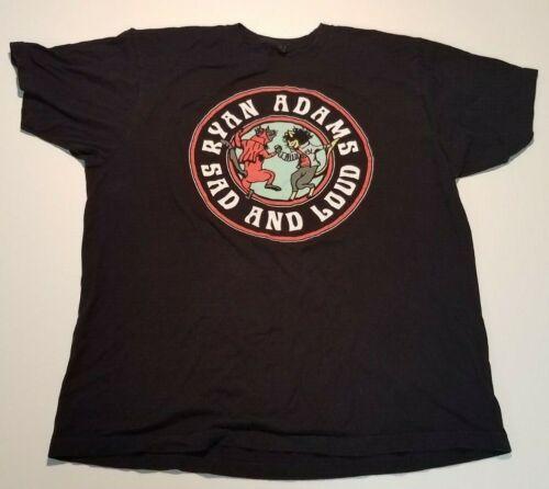 RYAN ADAMS t shirt XL extra large band concert tour SAS and LOUD tee