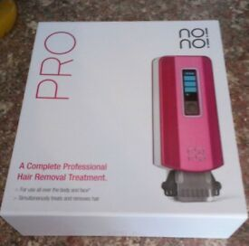 PRO no no hair removal system as new.