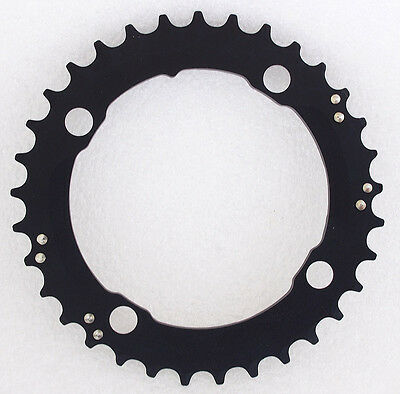 SRAM Black Truvativ MTB 33T BCD 104mm 10 speed Middle Chainring