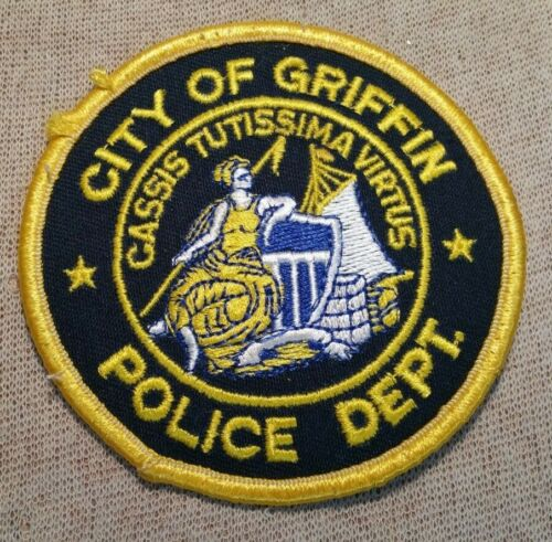 GA City of Griffin Georgia Police Patch