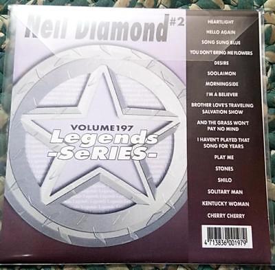 Songs Neil Diamond - LEGENDS KARAOKE CDG NEIL DIAMOND VOL 2 #197 OLDIES 17 SONGS CD+G HELLO AGAIN