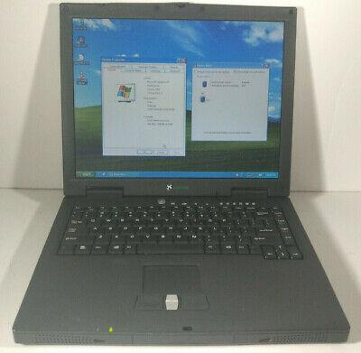 Gateway Solo 1400 Celeron 850Mhz /512MB RAM/80GB HDD Win XP Pro 3.5