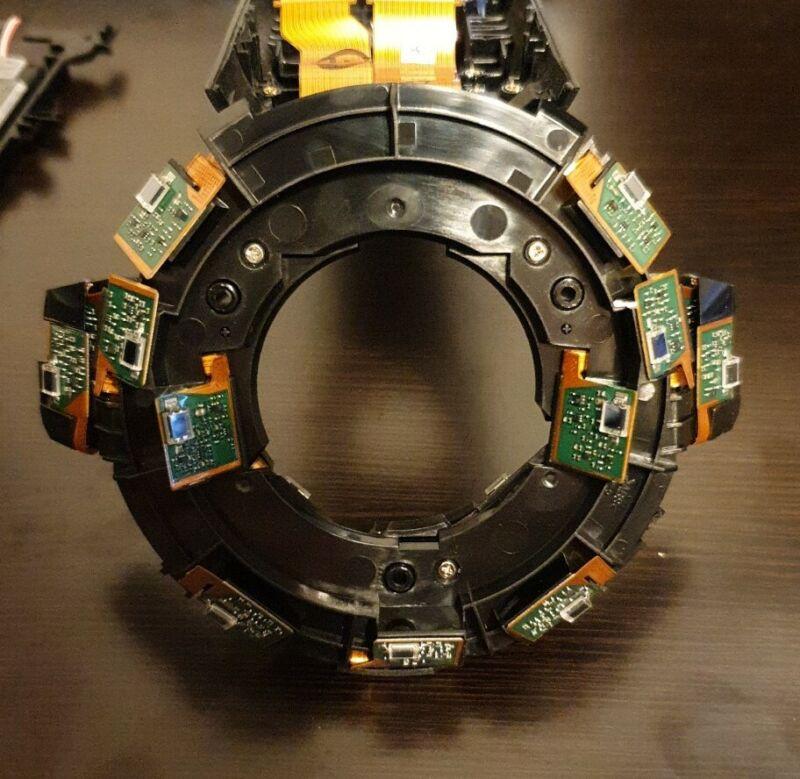 HTC Vive Controller Parts OEM Assembly IR LED Head Sensors Tracking Unit