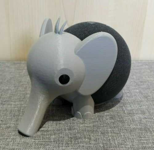 Elephant Holder for Amazon Echo Dot 4th Gen / Alexa - Stand Mount