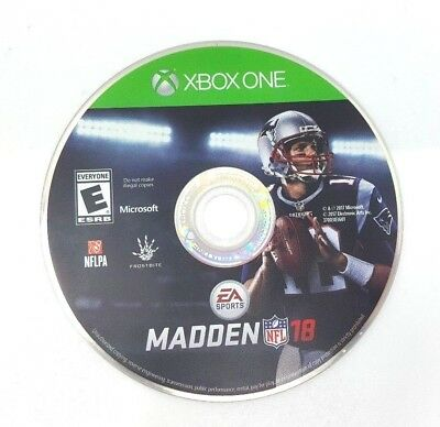 Madden Nfl 18  Xbox One  Disc Only    No Case