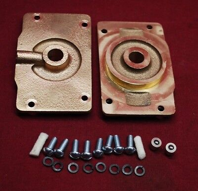 Pair Webster M Mm K L Magneto Bearing Plates Std Gas Engine Hit Miss Throttle