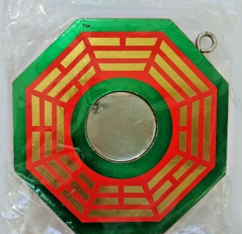 Feng Shui, Bagua Mirror, Eight Trigrams Mirror, For Hanging, 八卦, Mid 5x5